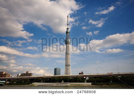 View of sky tree.