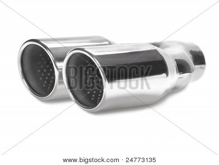 Sports exhaust pipe