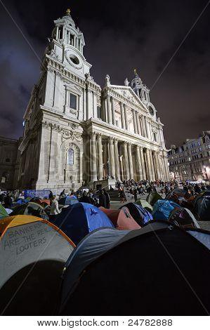 London, Uk - October 30 2011: