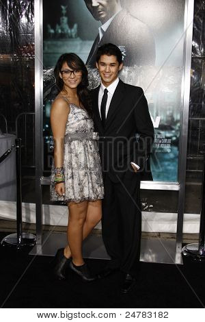 LOS ANGELES - FEB 16: Booboo Stewart and Fivel Stewart at the premiere of 'Unknown' held at the Regency Village Theater in Los Angeles, California on February 16, 2011