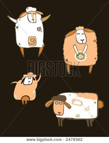 Coffee Sheeps Set