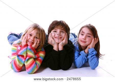 Three Young Kids
