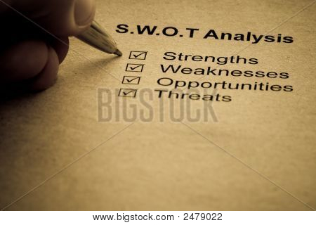 Business Strategy Analysis Concept
