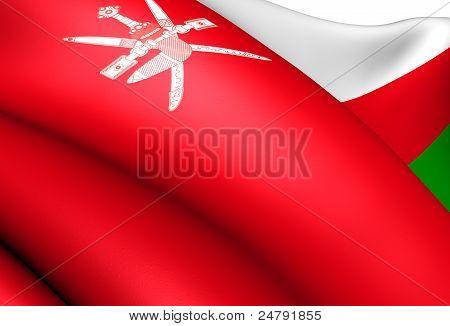 Flagge Omans