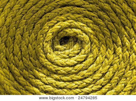 Coiled Ships Rope