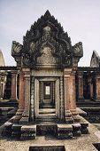 Prasat Phra Wihan, Preah Vihear, Si Sa Ket, Thailand, Ancient City , Ancient Siam, Muang Boran poster