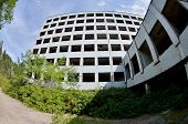 Постер, плакат: Jupiter Factory In Abandoned Pripyat Ghost Town Chernobyl Area pripyat Was Founded On In 1970 The