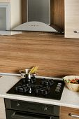 an image of aspirator in modern kitchen poster