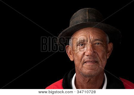 Old Man With Old Hat