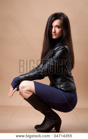 Sensual Brunette