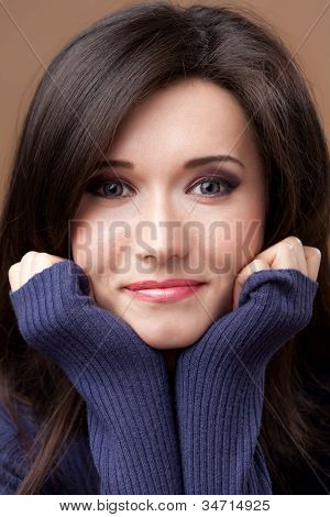 Lovely Brunette Portrait