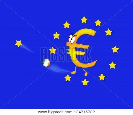 Euro And Ireland.