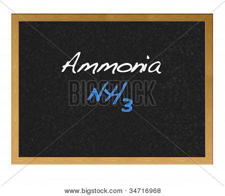 Amônia.