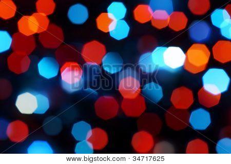 Holiday Defocused Lights