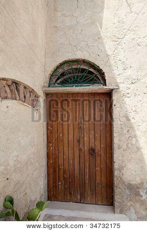 Old Door, Capraia Island, Italy