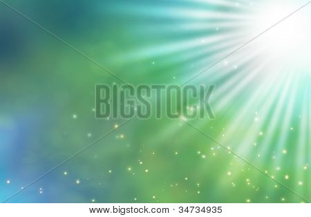 Abstract Background Of Light