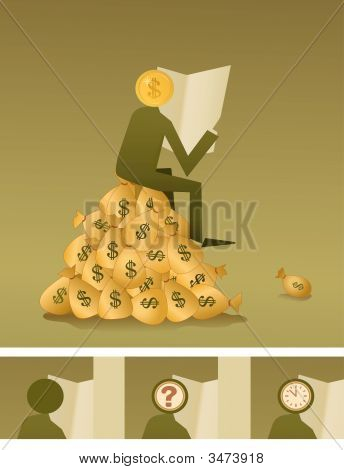 On Heap Of Money