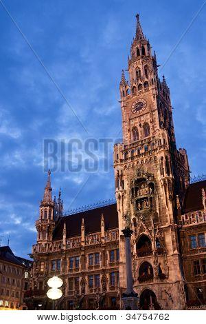 Munchen Rathaus