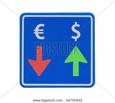 One-way Dollar And Euro Currency Traffic