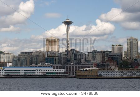 Seattle Living With Space Needle Centered