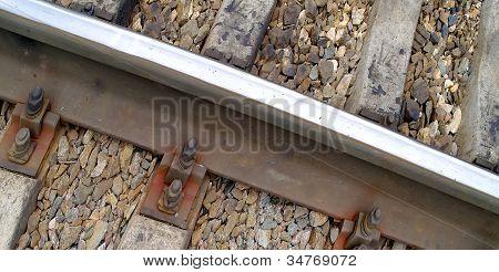 Railway, Rails And Railroad Ties
