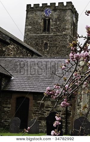 St Mary's Anglican Church, Conwy, Wales