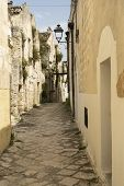 White Buildings Of Laterza, Taranto, Apulia, Southern Italy, Historic Town poster