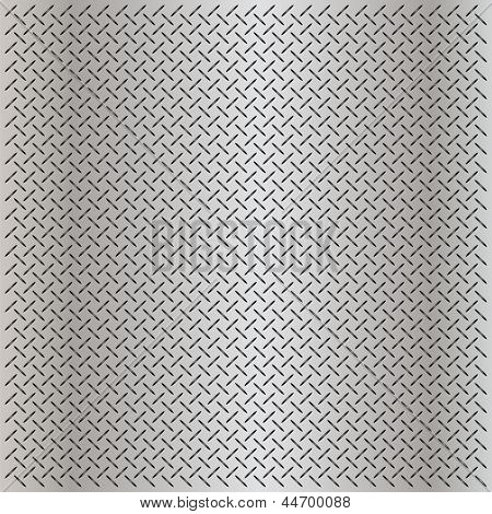High resolution concept conceptual gray metal stainless steel aluminum perforated pattern texture mesh background as metaphor to industrial,abstract,technology,grid,silver,grate,spot,grille surface