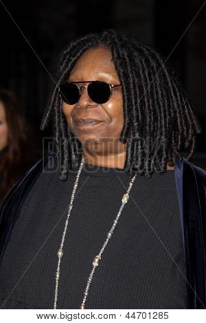 NEW YORK, NY - APRIL 16: Whoopi Goldberg attends Vanity Fair Party for the 2013 Tribeca Film Festival on April 16, 2013 in New York City.