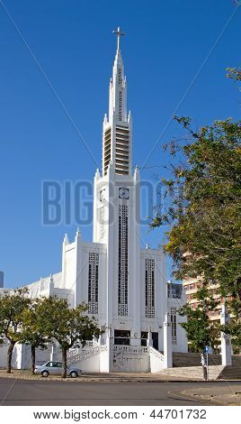The Roman Catholic Cathedral in Maputo, Mozambique