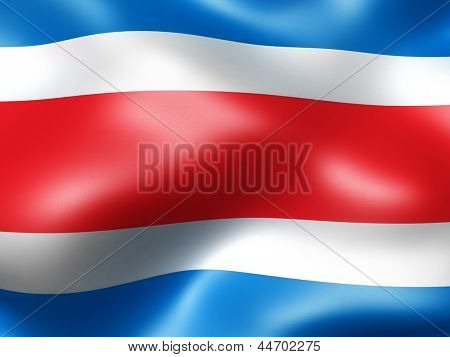 Thailand country flag 3d illustration