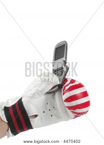 Telephone In Glove