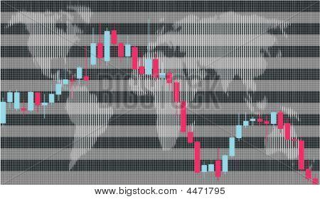 Business Graph, Candlestick