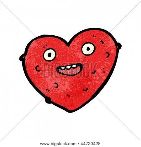 lumpy heart cartoon