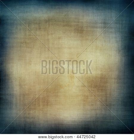 Braun und blau Grunge strukturierte Wand. Textfreiraum