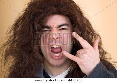 Crazy Rocker Dude