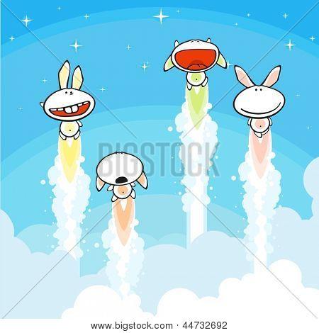 Bunnies launch