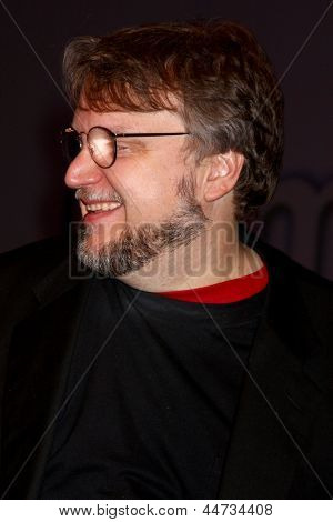 LAS VEGAS - APR 17:  Guillermo del Toro at the CinemaCon Filmmaker's Luncheon at the Caesars Palace on April 17, 2013 in Las Vegas, NV