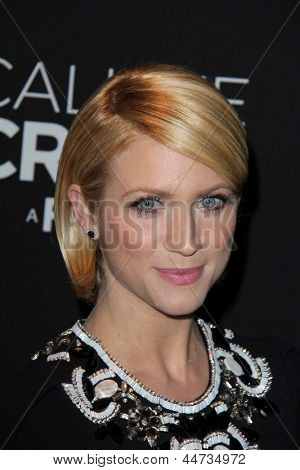 """LOS ANGELES - APR 16:  Brittany Snow arrives at the """"Call Me Crazy: A Five Film"""" Premiere at the Pacific Design Center on April 16, 2013 in West Hollywood, CA"""