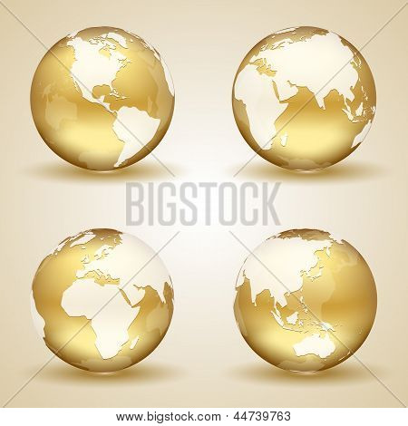 Golden Earth poster