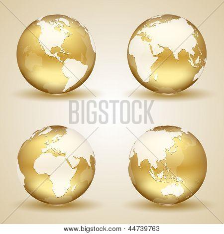 Golden Earth poster