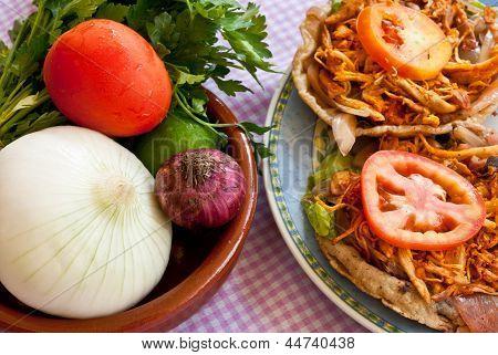 Mexican Food: Salbute