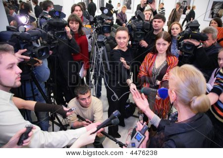 Interview On Exhibition