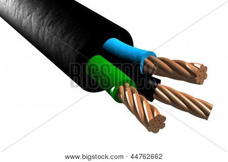Photo of Tri-rated cable (3D)