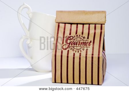 Coffee Bag And Cups