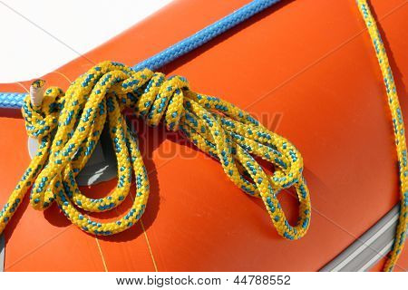 Photo of Fastening ropes
