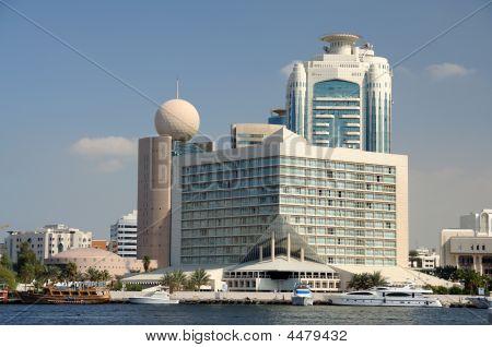 Buildings At Dubai Creek