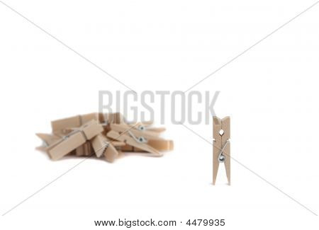 Wooden Chothes Pegs
