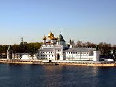 picture of romanov  - Panorama majestic Ipatievsky a monastery in Kostroma 13 centuries based in second half whence in 1613 Michael Romanov has ascended on a throne a picture 02 - JPG