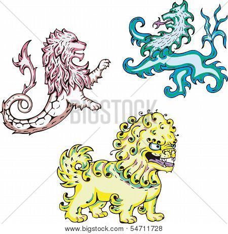 Mythic Lions